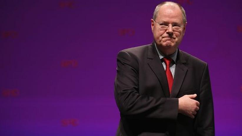 SPD-Wahlkampf: Steinbrück läuft den Gehaltsfragen davon