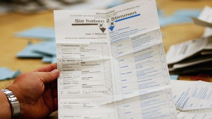 Bundestag: Auf der Suche nach dem perfekten Wahlrecht