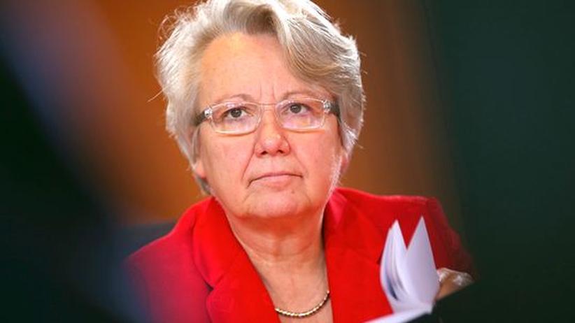 Plagiatsvorwurf: Bildungsministerin Annette Schavan am 19. Dezember in Berlin