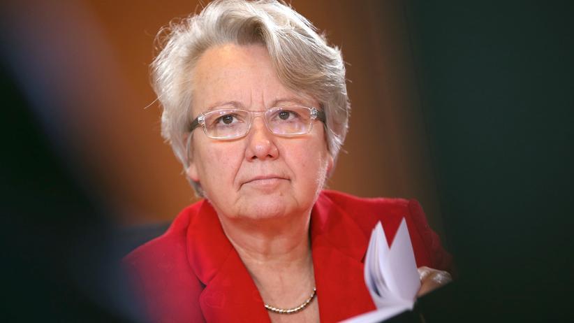Annette Schavan: Bloß nicht zurücktreten!