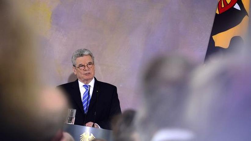 """Europa-Rede: Gauck weist Ängste vor """"deutschem Europa"""" zurück"""