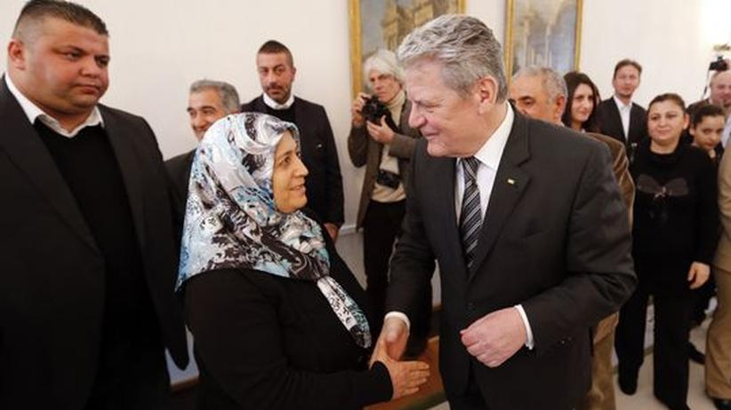 Bundespräsident: Gauck sichert Familien der NSU-Opfer Aufklärung zu