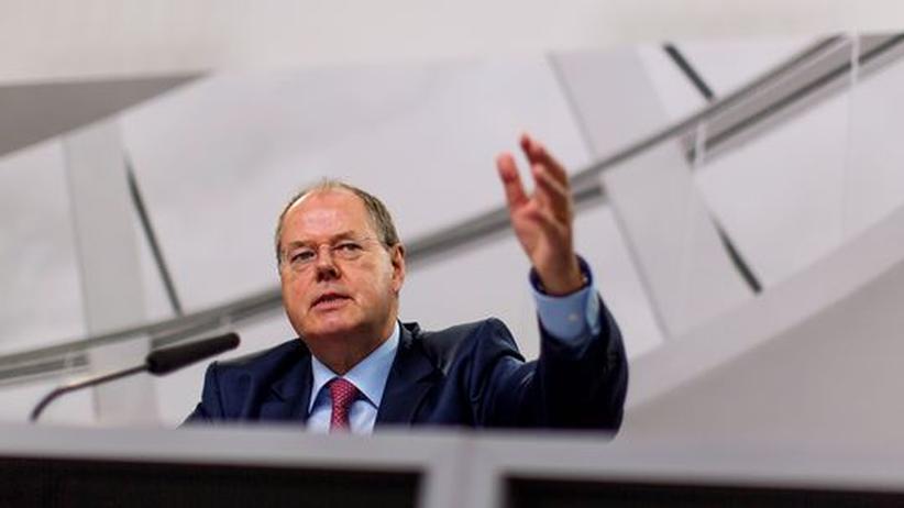 Wahlkampf: Steinbrück will Grundsatzreden halten