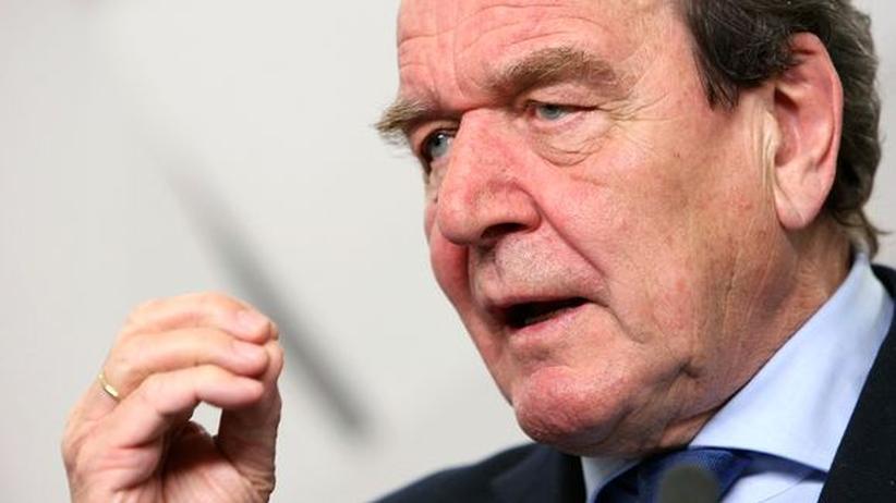Hartz-IV-Reformen: Altkanzler Gerhard Schröder