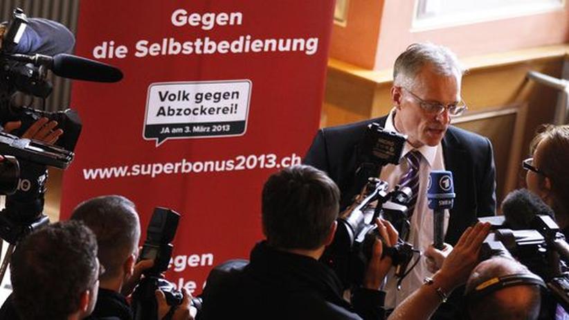 Managergehälter: Politiker sehen Schweizer Votum als Vorbild für Deutschland