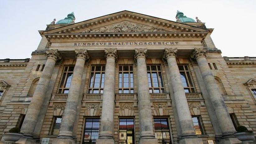 Pressegesetz: Das Bundesverwaltungsgericht in Leipzig