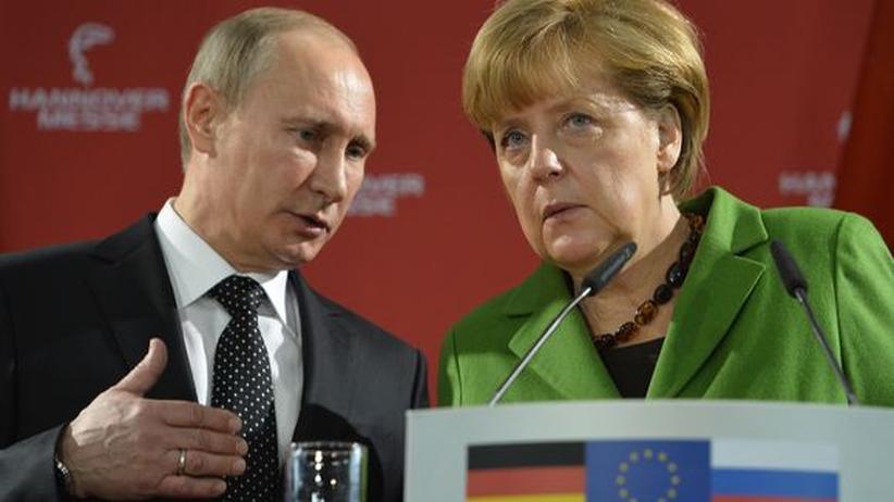 Treffen mit Putin: Merkel sorgt sich um deutsche Stiftungen in Russland