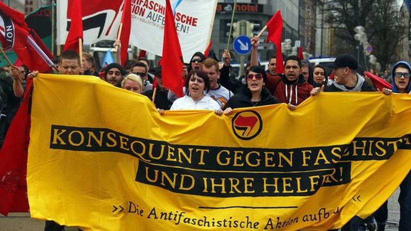 NSU-Prozess: Tausende demonstrieren in München gegen Rechtsextreme