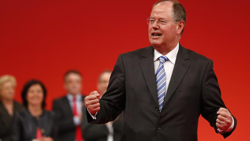 SPD-Schattenkabinett: SPD-Kanzlerkandidat Peer Steinbrück