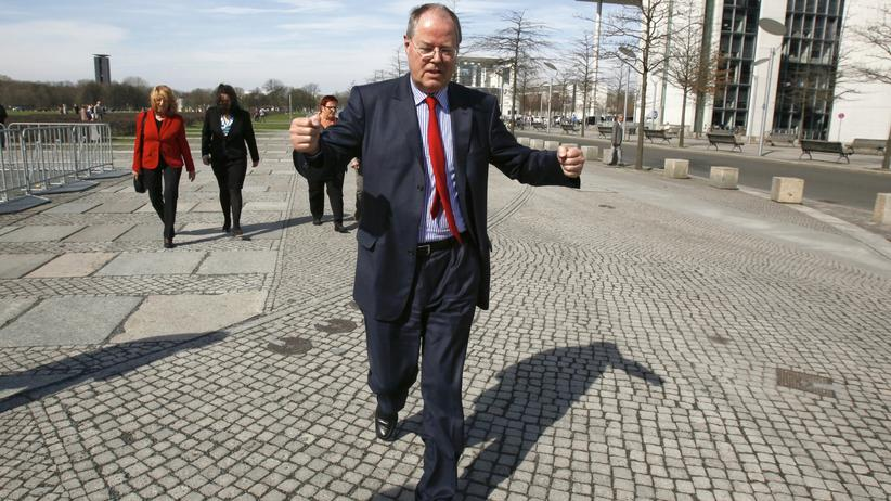 Bundestagswahlkampf: Steinbrück beruft Schattenminister