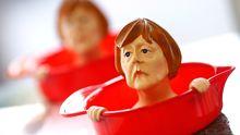 Ohnmacht der Politik: Kanzlerin Merkel als Saftpresse