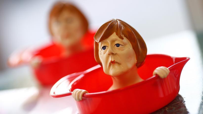 Politikverdrossenheit: Ohnmacht der Politik: Kanzlerin Merkel als Saftpresse
