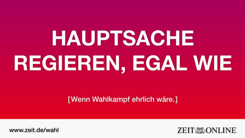 Wie würde ein ehrlicheres Plakat der SPD aussehen?
