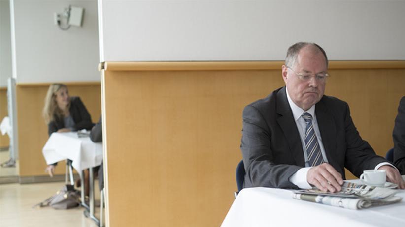 """Peer Steinbrück: """"Sozialdemokraten sind anstrengend"""""""