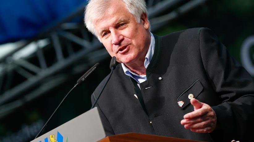 Einwanderung: CSU-Chef Horst Seehofer