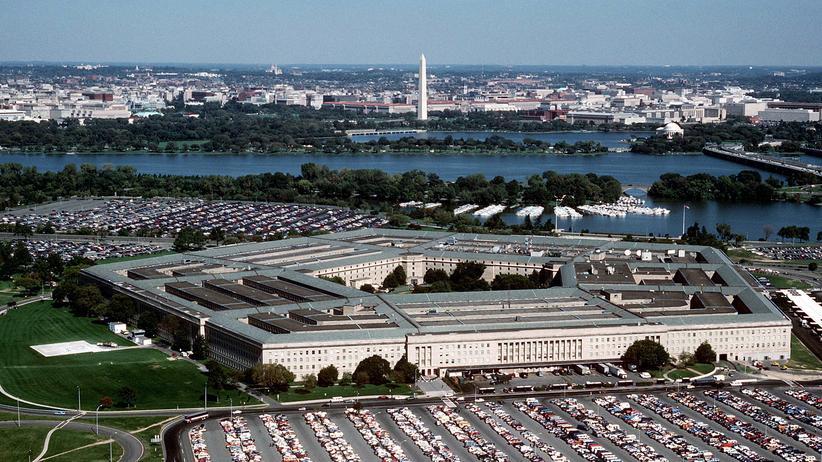 Blick auf das US-Verteidigungsministerium in Washington