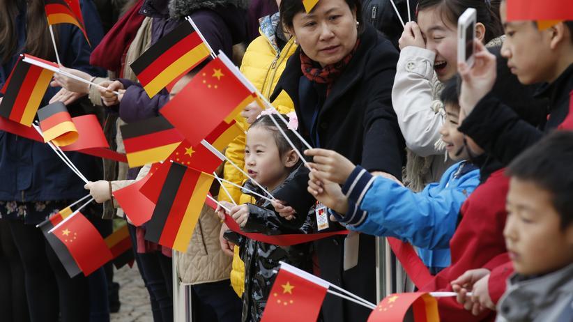 Besuch in Deutschland: Chinas Präsident sieht riesiges Potenzial