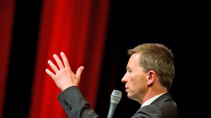 Bernd Lucke: Bernd Lucke, Chef der AfD