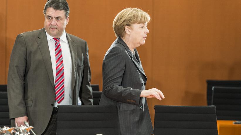 Europawahl : Gabriel und Merkel: Aufregung in der großen Koalition