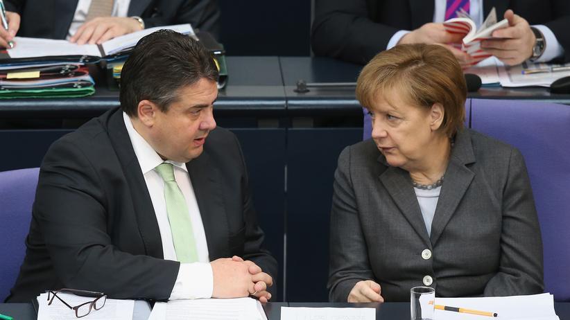 Groko Gabriel Merkel