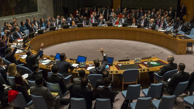 Verteidigungspolitik: Veto der Botschafter Russlands und Chinas im UN-Sicherheitsrat am 22. Mai bei der Abstimmung über eine Syrien-Resolution