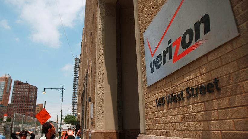 NSA-Affäre: Das New Yorker Hauptquartier von Verizon