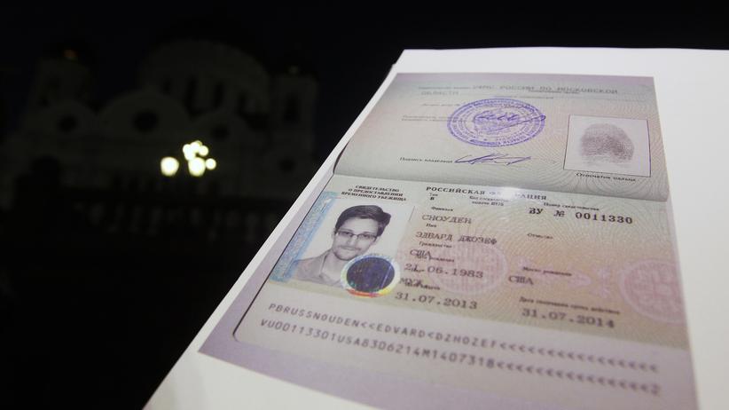 US-Whistleblower: Snowdens russisches Visum