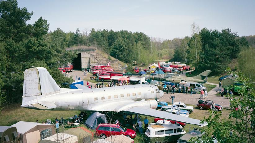 Militärgebiete: Früher Fliegerhorst, heute Schafstall