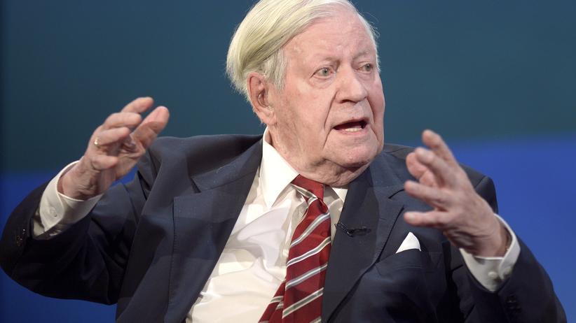 Helmut Schmidt Möglichkeit Krieg