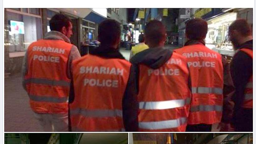 Islamisten: Ein von den Salafisten auf Facebook veröffentlichtes Bild
