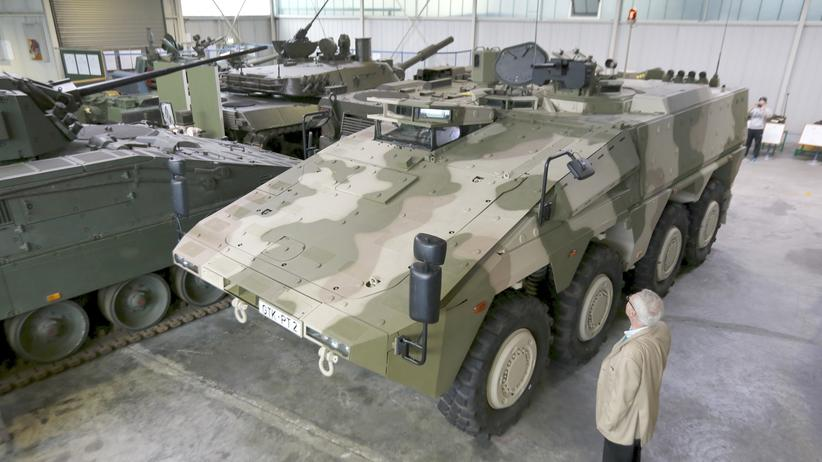 Bundeswehr Kampfpanzer Fahrzeuge Boxer