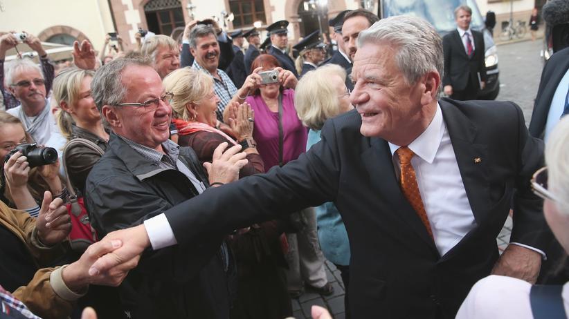 Joachim Gauck 25 Jahre Friedliche Revolution