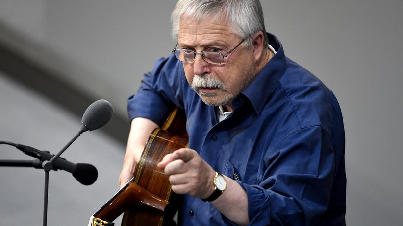 Wolf Biermann: Wolf Biermann bei der Mauerfall-Gedenkstunde im Bundestag