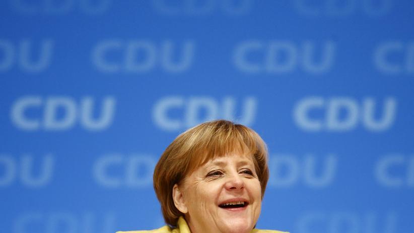 Angela Merkel: Die Deutschen, zum Glück verdammt