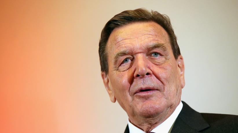 Anti-Islam-Proteste: Gerhard Schröder