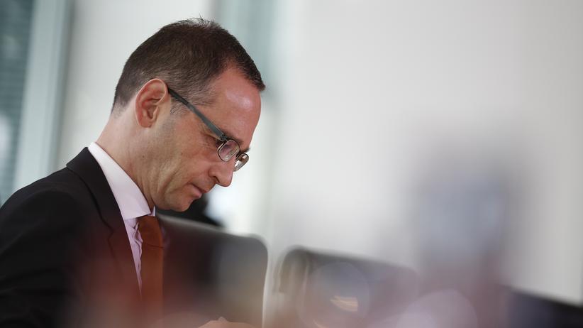 Bundesjustizminister Heiko Maas, SPD (Archiv)