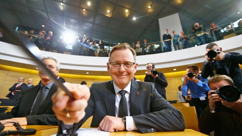 Thüringen-Wahl: Neu gewählter Ministerpräsident von Thüringen: Bodo Ramelow