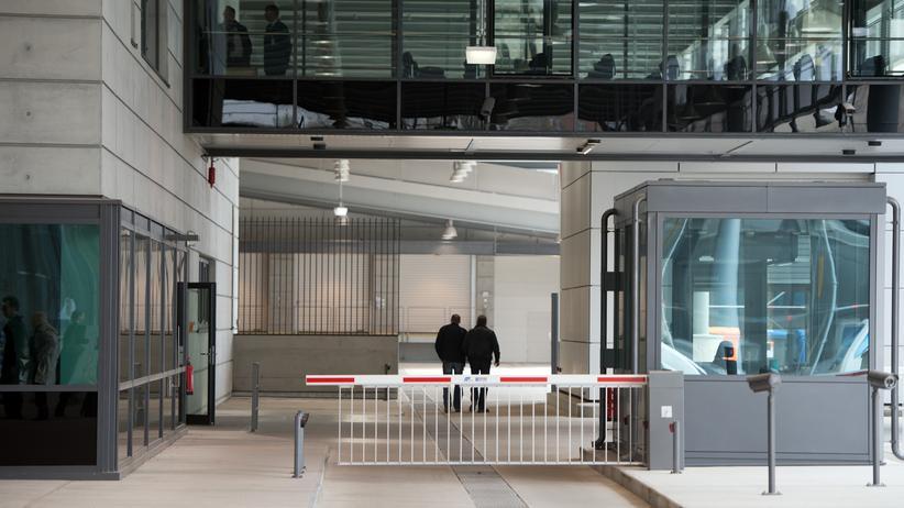 Bundesnachrichtendienst: Zentrale des Bundesnachrichtendienstes (BND) in Berlin