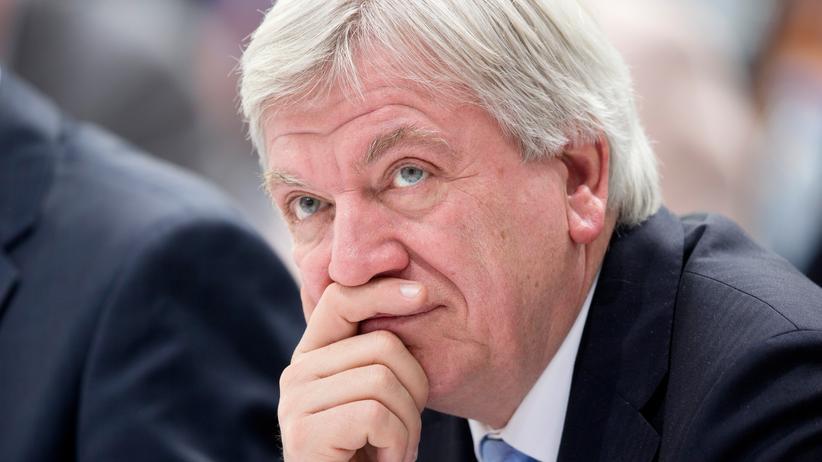 Volker Bouffier Hessen NSU Ministerpräsident