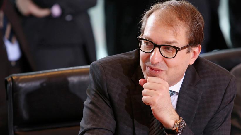 Pkw-Maut: Verkehrsminister Alexander Dobrindt (CSU)