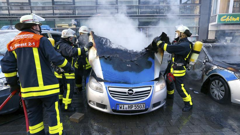 Blockupy-Demo: Gesellschaft, Blockupy-Demo, Frankfurt am Main, Blockupy, Demonstration, Polizei, Gewalt, Rainer Wendt
