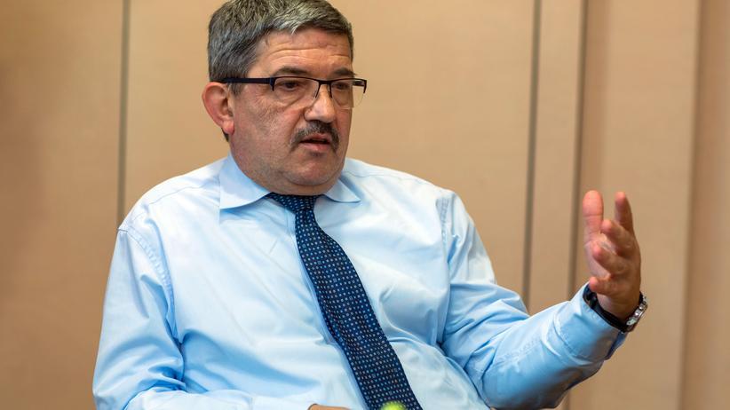 Lorenz Caffier Innenminister CDU