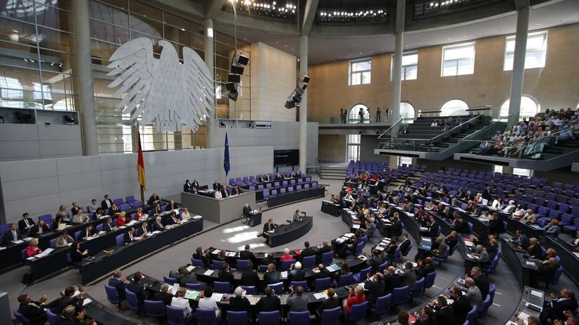 Gleichberechtigung: Sitzung des Deutschen Bundestages (Archiv)