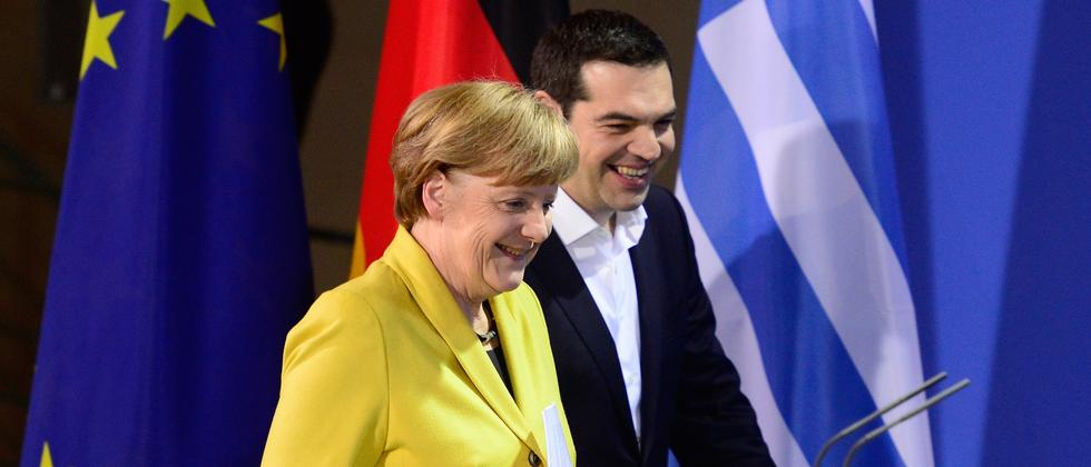 Griechenland Alexis Tsipras Berlin Angela Merkel