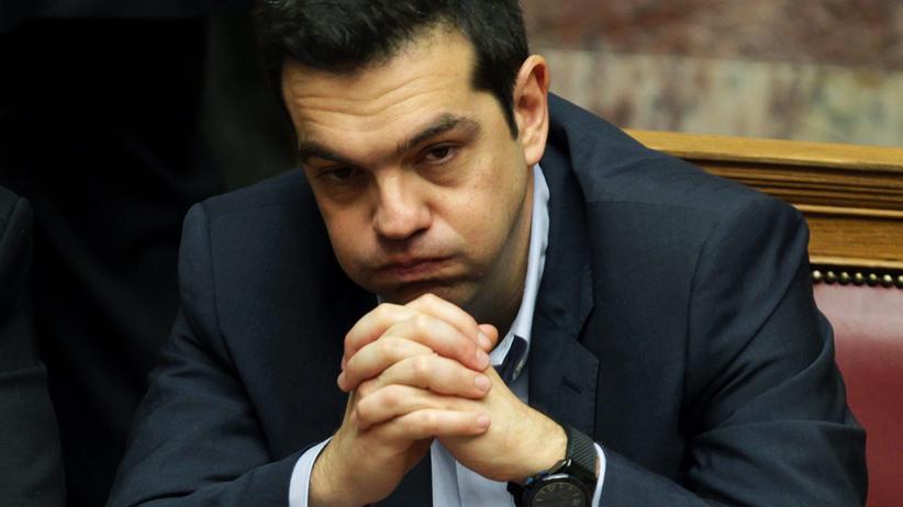 Eurokrise: Griechenlands Premierminister Alexis Tsipras