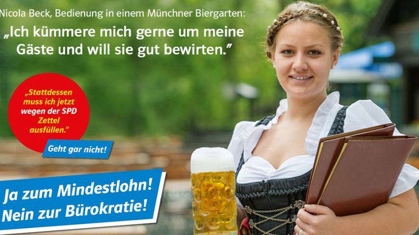 Große Koalition: CSU fährt Plakat-Kampagne gegen SPD