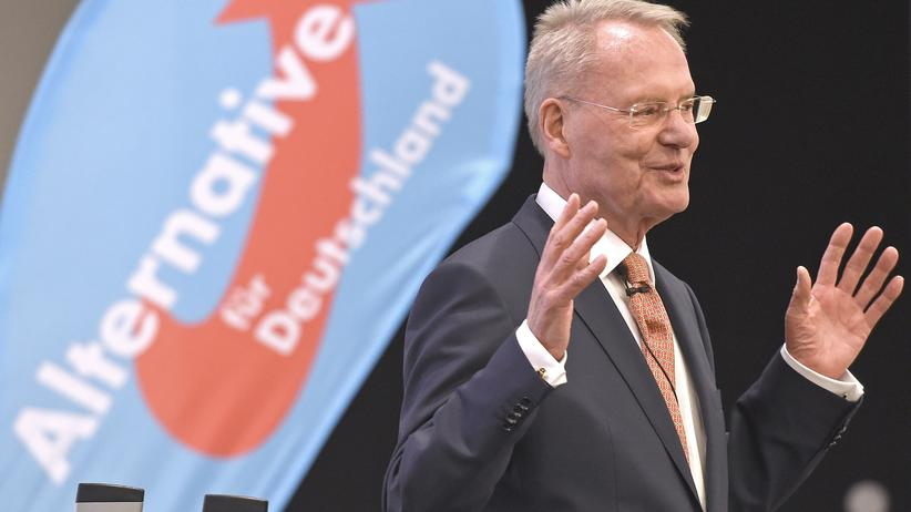 Politik, Alternative für Deutschland, Hans-Olaf Henkel, Alternative für Deutschland, Bernd Lucke