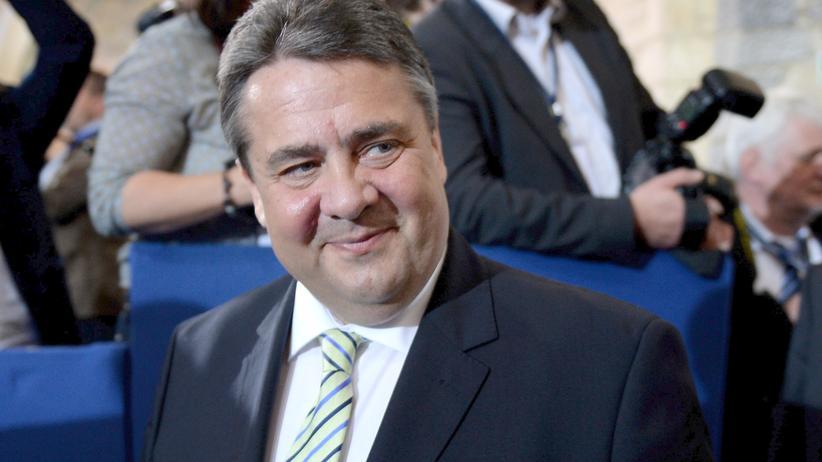 Kita-Streik: Sigmar Gabriel bei der Verleihung des Aachener Karlspreises