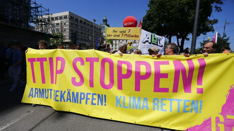 München Demonstration TTIP