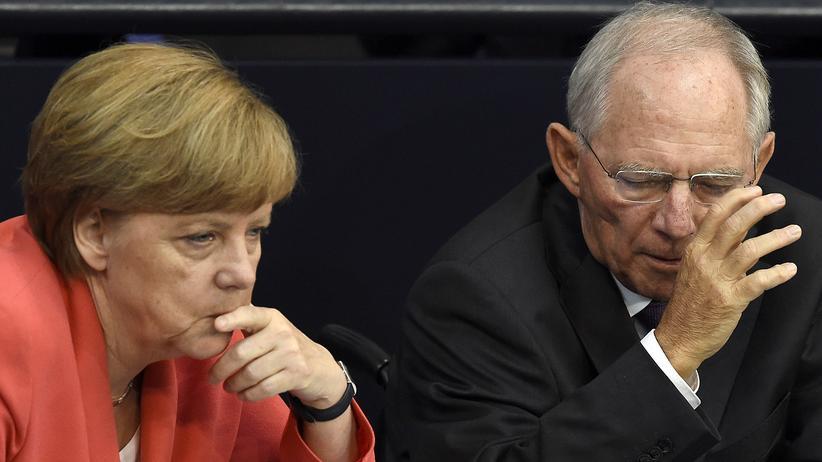 Grexit Merkel Schäuble